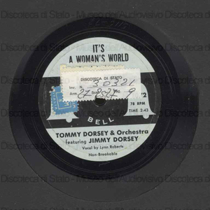 It''s a woman''s world ; In a little spanish town / Jimmy Dorsey ; Orch. T. Dorsey