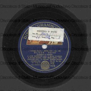Blues ; Honeysuckle rose / a jam session con T. Dorsey, Berigan, Fats Waller ... [et al.]