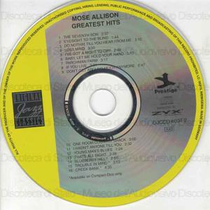 Greatest hits / Mose Allison