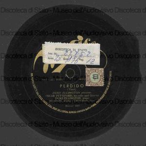 Blues for Blanton ; Perdido / Ellington, piano ; Pettiford, cello ; J. Jones, batt. ; Trotman, basso
