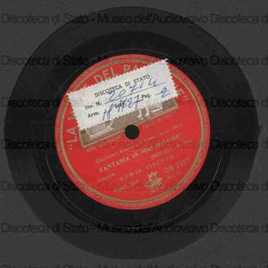 Fantasia in do minore K. 396 / Mozart ; E. Fischer, pianoforte