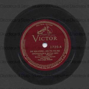 Allerseelen op. 10 n. 8 / Richard Strauss. Die Walkure : ho yo to ho / Wagner ; [in entrambi] Kristen Flagstad, soprano ; Edwin McArthur, pianoforte ; [nel 2. brano] Hans Lange, direttore