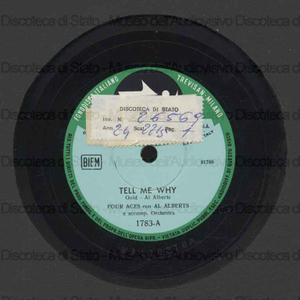 Tell me why ; Garden in the rain / Al Alberts ; Four Aces