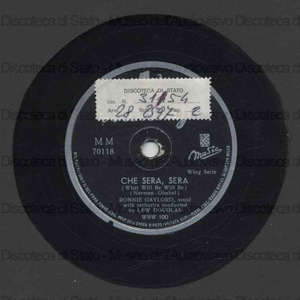 Che sera'', sera'' = What will be will be ; Gina : L'ammore e 'nu canario / Ronnie Gaylord ; Lew Douglas with orchestra
