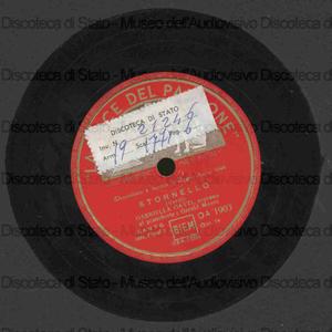 Stornello / G. Verdi. Dolente immagine di Fille mia / V. Bellini ; [entrambi i brani eseguiti da] G. Gatti, soprano ; G. Moore, pianoforte