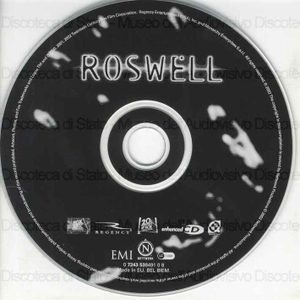 Roswell : original television soundtrack / music from Dido, Coldplay, Sarah McLachlan, Sense Field, Sheryl Crow, Travis, Doves and more as featured on the TV series Roswell
