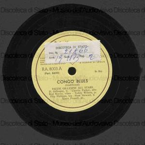 Congo blues ; Get happy / Dizzie Gillespie All Stars