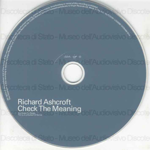 Check the meaning / Richard Ashcroft