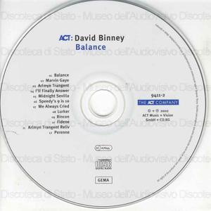 Balance / David Binney