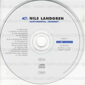 Sentimental journey / Nils Landgren