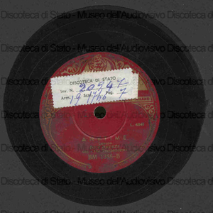 Anytime ; Bouquet of roses / Dick Haymes con The Trombadours