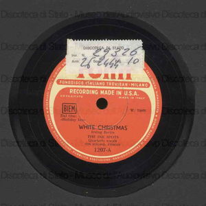 White Christmas ; Always / The Ink Spots