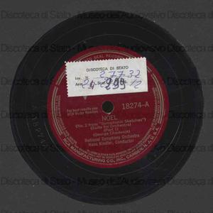 Noel n. 2 : from Symphonic Sketches / G. Chadwick ; National Symphony Orchestra diretta da Hans Kindler