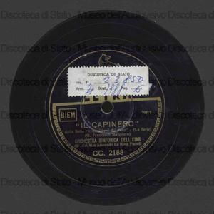 Il capinero ; Il cu - cu : dalla suite Impessioni dal vero / G. F. Malipiero ; Orch. EIAR ; La Rosa Parodi, direttore