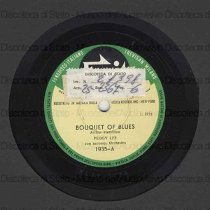 Bouquet of blues ; Let me go lover! / Peggy Lee ; Orchestra Victor Young