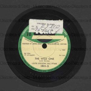 The wild one ; Blues for Brando / L. Stevens All Stars