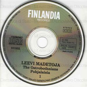 The Ostrobothnians = Pohjalaisia : Opera in three acts / Leevi Madetoja ; Finnish National Opera Orchestra and Chorus ; Jorma Panula, conductor ; [interpreti]: M. Lokka, M. Kuusoja, R. Erkkila ... [et al.]
