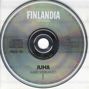 Juha : Opera in Three acts / Aare Merikanto ; Finnish National Opera Orchestra and Chorus ; Ulf Soderblom, conductor ; [cast]: M. Lehtinen, R. Kostia, H. Krumm ... [et al.]
