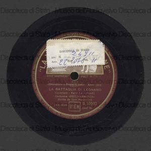 La Battaglia di Legnano : Ouverture / G. Verdi ; Orch. Philarmonia ; I. Markevitch, direttore