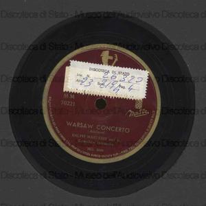 Warsaw concerto ; Lazy River / Ralph Marterie ; Orchestra Downbeat ; [2. brano] R. Draper