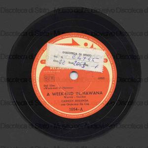 A week-end in Hawana ; Ela diz que tem / C. Miranda ; Orchestra Da Lua