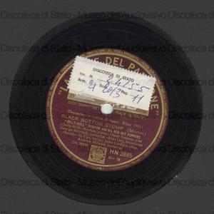 Black bottom stomp ; Grandpa's spells / Jelly Roll Morton, piano ; O. Simeon, clar. ; G. Mitchell, cornetta ; Kid Ory, trombone ; Buddy St. Cyr, banjo ; J. Lindsay, c. bass. ; A. Hilaire, batteria