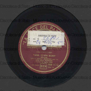 Tank town bump ; The chant / Jelly Roll Morton and his Red Hot Peppers