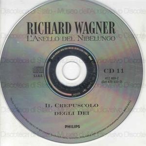 """Il Crepuscolo degli Dei : Terza giornata del ciclo """"L'anello del Nibelungo"""" / Richard Wagner ; Coro e Orchestra del Festival di Bayreuth ; Karl Bohm ; [cast]: W. Windgassen, T. Stewart, G. Neidlinger ... [et al.]"""