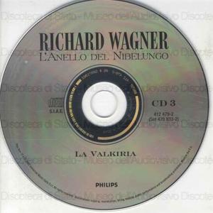 """La Valkiria : Prima giornata del ciclo """"L'anello del Nibelungo"""" / Richard Wagner ; Orchestra del Festival di Bayreuth ; Karl Bohm"""