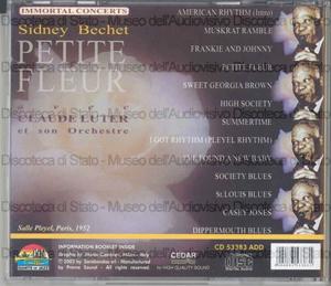 Petite fleur / Sidney Bechet avec Claude Luter et son Orchestre