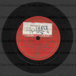 Wiegenlied : Ninna nanna op. 49 n. 4 / Brahms. Staendchen : Serenata op. 17 n. 2 / R. Strauss ; [in entrambi i brani] G. Pederzini, mezzosopr. ; G. Favaretto, pf.