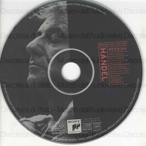 Messiah / George Friederic Handel ; New York Philharmonic ; Leonard Bernstein ; A. Addison, soprano ; R. Oberlin, countertenor ; D. Lloyd, tenor ; W. Warfield, baritone ; Wesrminster Choir ; John Finley Williamson, director