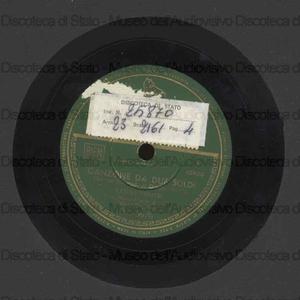 Canzone da due soldi ; Sotto l'ombrello / K. Ranieri e complesso ; M. Migliardi, direttore ; [2. brano con] A. Vasquez