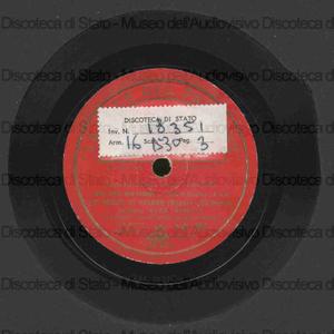 Le nozze di Figaro : Deh vieni non tardar / Mozart. Don Pasquale : So anch'io la virtu' magica / Donizetti ; E. Ribetti, soprano ; Grande Orchestra diretta da A. Sabino