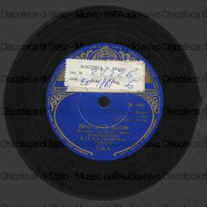 Zing zing boom ; Chocolate whiskey and vanilla gin / E. Ros, direttore ; Orchestra Cubana