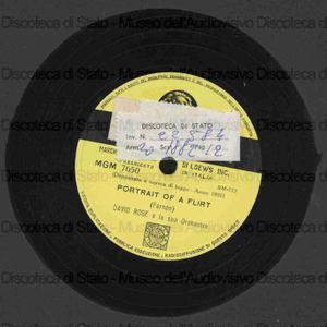 Portrait of a flirt ; September song / David Rose