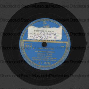 Widmung = Dedica / Schumann. Come raggio di sol / A. Caldara ; [entrambi i brani eseguiti da] N. Rossi Lemeni ; G. Favaretto, pianoforte