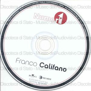 Numeri 1. Franco Califano