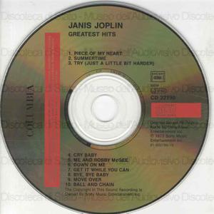 Janis Joplin''''s greatest hits ; Best of the best Gold