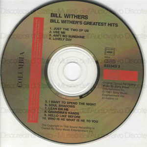 Greatest hits ; Best of the best Gold / Bill Withers