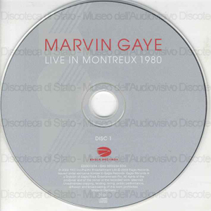 Live in Montreux 1980 / Marvin Gaye