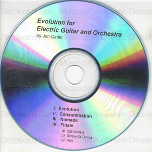 Evolution for electric guitar and orchestra / Jon Catler