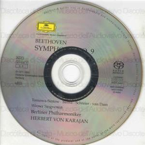 Symphony No.9 in D minor, op.125 / Ludwig Van Beethoven ; Berliner Philarmoniker ; Herbert Von Karajan ; Anna Tomowa-Sintow, soprano ; A. Baltsa, contralto ; P. Schreier, tenor ...[et al.] ; Wiener Singverein