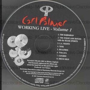 Working live. Volume1 / Carl Palmer