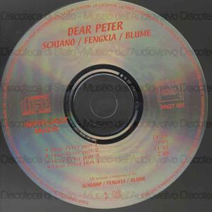 Dear Peter / Schiano, Fengxia, Blume
