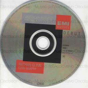 American Anthem : from ragtime to art song / Jay Gorney ; Ned Rorem ; Gene Scheer ... [et al.] ; Natan Gunn, baritono ; Kevin Murphy, piano