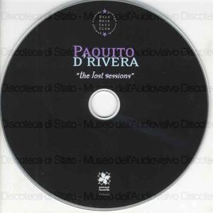 The Lost Session / Paquito D'Rivera