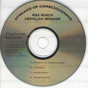 Streams of Consciousness / Max Roach ; Abdullah Ibrahim