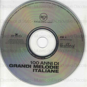 I Grandi Successi Originali . 100 anni di grandi melodie italiane / F. Tagliavini, G. Bechi, C. Bergonzi ...[et al.]