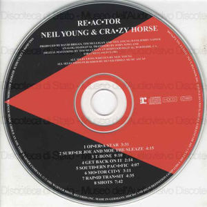 Crazy horse ; Re-ac-tor / Neil Young